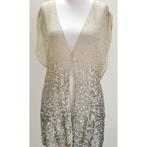 """Alice and Olivia Sequin """"Brooklyn"""" vest"""